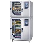 Blodgett BLCT-61-101G Natural Gas Double Boilerless Combi Oven with Touchscreen Controls - 58,000 / 87,000 BTU