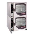 Blodgett BCX-14G-LP Liquid Propane Double Full Size Combi Oven with Manual Controls - 230,000 BTU