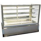 Federal Industries ITD6034-B18 Italian Series 60 inch Dry Bakery Display Case - 26 cu. ft.