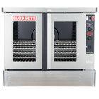 Blodgett ZEPHAIRE-100-G-NAT Natural Gas Replacement Base Model Full Size Standard Depth Convection Oven - 45,000 BTU