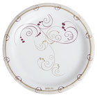 Dart Solo MP9-J8001 Symphony 8 1/2 inch Medium Weight Paper Plate - 125/Pack