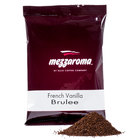 Ellis Mezzaroma French Vanilla Brulee Ground Coffee - (24) 2.5 oz. Packets / Case