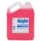 GOJO® 1847-04 1 Gallon Pink Floral Antimicrobial Lotion Hand Soap with PCMX