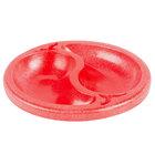 HS Inc. HS1070 Chile Doble 9 oz. Red Divided Plastic Bowl - 24/Case