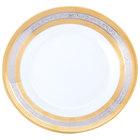 10 Strawberry Street ELE-4 Elegance 8 inch Salad/Dessert Plate - 24/Case
