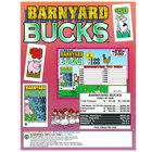 Barnyard Bucks 1 Window Pull Tab Tickets - 1125 Tickets Per Deal - Total Payout: $850