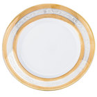 10 Strawberry Street ELE-5 Elegance 7 inch Bread and Butter Plate - 24/Case