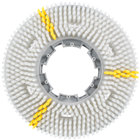 Carlisle 3611VWH EZSnap 11 inch White Value Rotary Daily Cleaning Brush