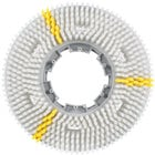Carlisle 3618VWH EZSnap 18 inch White Value Rotary Daily Cleaning Brush