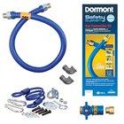 36 inch Dormont 1650KITCF SafetyQuik Gas Appliance Connector Kit - 1/2 inch Diameter