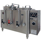 Grindmaster 7776(E) Twin 6 Gallon Automatic Mid Line Coffee Urn - 120/208V