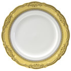 10 Strawberry Street VAN-5G Vanessa 7 inch Gold Bread and Butter Plate - 24/Case