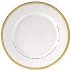 10 Strawberry Street ATH-1G Athens 10 3/4 inch Gold Dinner Plate - 24/Case