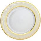 10 Strawberry Street IRIANA-1GLD Iriana 10 1/4 inch Gold Dinner Plate - 24/Case