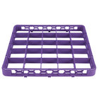 Carlisle RE25C89 OptiClean 25 Compartment Lavender Color-Coded Glass Rack Extender