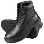Genuine Grip 760 Women's Size 8 Wide Width Black Leather Waterproof Non Slip Boot