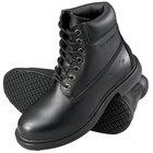 Genuine Grip 760 Women's Size 7 Wide Width Black Leather Waterproof Non Slip Boot