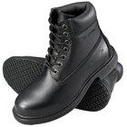Genuine Grip 760 Women's Size 5.5 Wide Width Black Leather Waterproof Non Slip Boot