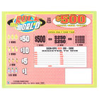 Rock My World 5 Window Pull Tab Tickets - 1800 Tickets Per Deal - Total Payout: $675
