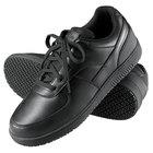 Genuine Grip 2010 Men's Size 8 Wide Width Black Leather Sport Classic Non Slip Shoe