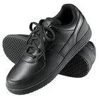 Genuine Grip 2010 Men's Size 10 Wide Width Black Leather Sport Classic Non Slip Shoe