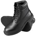 Genuine Grip 7161 Men's Size 10.5 Wide Width Black Waterproof Steel Toe Non Slip Leather Boot