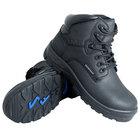Genuine Grip 6050 Poseidon Men's Size 8 Wide Width Black Waterproof Composite Toe Non Slip Full Grain Leather Boot