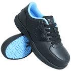 Genuine Grip 520 Women's Size 7.5 Medium Width Black Composite Toe Athletic Non Slip Shoe