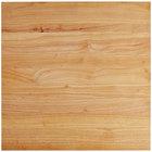 """Choice 24"""" x 24"""" x 1 3/4"""" Wood Cutting Board"""
