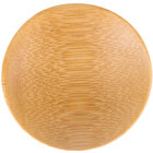 Tablecraft BAMDRBAM2 2 1/2 inch Bamboo Disposable Round Dish - 48/Pack