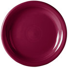 Homer Laughlin 1461341 Fiesta Claret 6 5/8 inch Round Appetizer Plate   - 12/Case