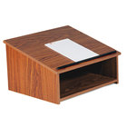 Oklahoma Sound 22CH Wild Cherry Finish Tabletop Lectern