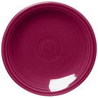 Homer Laughlin 464341 Fiesta Claret 7 1/4 inch Round Salad Plate - 12/Case