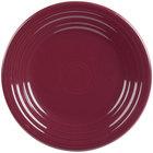 Homer Laughlin 465341 Fiesta Claret 9 inch Round Luncheon Plate - 12/Case