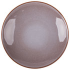 Homer Laughlin 220541437 Brownfield 10 1/8 inch Cobblestone Deep Salad Plate - 12/Case