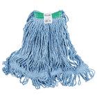 Rubbermaid FGD21206BL00 Blue Medium Super Stitch Blend Mop Head with 1 inch Headband