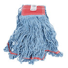 "Rubbermaid FGC15306BL00 Blue Large Swinger Loop Wet Mop Head with 5"" Headband"