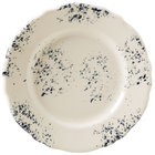 Homer Laughlin 54241300 Cottage Bleu 7 1/4 inch Scalloped Edge Round Plate - 36/Case