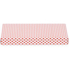 9 3/8 inch x 5 5/8 inch x 1 1/8 inch 2-Piece 1 lb. Valentine's Day Heart Candy Box - 125/Case