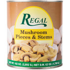 Regal Foods Mushroom Pieces & Stems - #10 Can