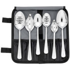 Mercer Culinary M35151 7 Piece Plating Spoon Set