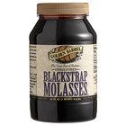 Golden Barrel 1 Qt. Sulfur-Free Blackstrap Molasses - 12/Case