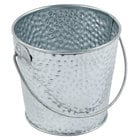 Tablecraft GT33 Galvanized Steel Pail - 12/Pack