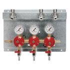 Micro Matic 8231 Triple Gauge (60 PSI) Secondary CO2 Regulator Panel