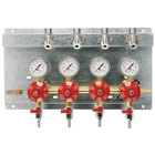 Micro Matic 8241 Quadruple Gauge (60 PSI) Secondary CO2 Regulator Panel