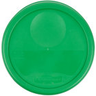 Rubbermaid 1980381 Color-Coded 6 and 8 Qt. Green Round Food Storage Container Lid