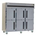 Delfield SAF3-SH 79 Cu. Ft. Three Section Solid Half Door Reach In Freezer - Specification Line