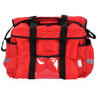 ServIt Heavy-Duty Insulated Red Nylon Sandwich / Take-Out Delivery Bag