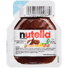 Nutella Hazelnut Spread .52 oz. Portion Control Pack - 120/Case