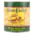 Pear Halves in Light Syrup #10 Can   - 6/Case